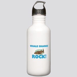 Whale Sharks rock! Stainless Water Bottle 1.0L