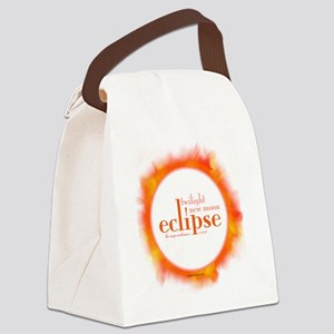 2-eclipse2 Canvas Lunch Bag