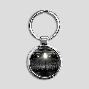 Ghost Light Round Keychain
