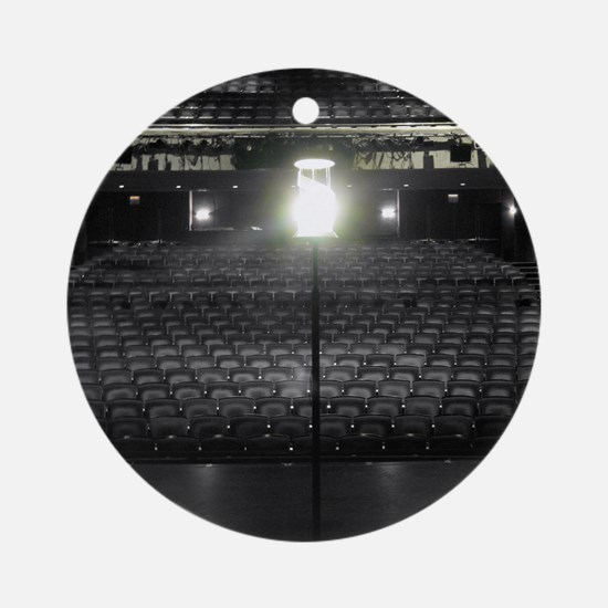 Ghost Light Round Ornament