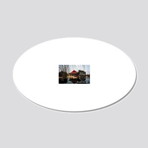 SouthKorea5 20x12 Oval Wall Decal