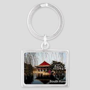 SouthKorea5 Landscape Keychain
