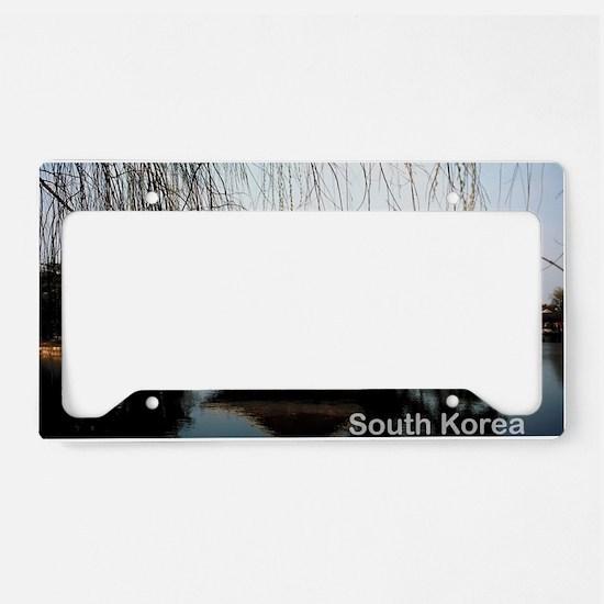 SouthKorea5 License Plate Holder