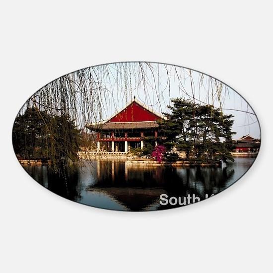 SouthKorea5 Sticker (Oval)