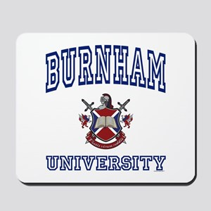 BURNHAM University Mousepad