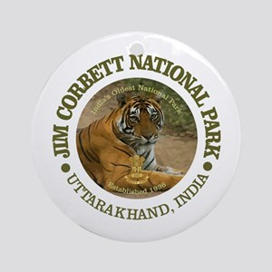 Jim Corbett National Park Round Ornament