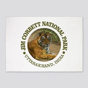 Jim Corbett National Park 5'x7'Area Rug
