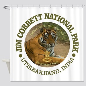 Jim Corbett National Park Shower Curtain