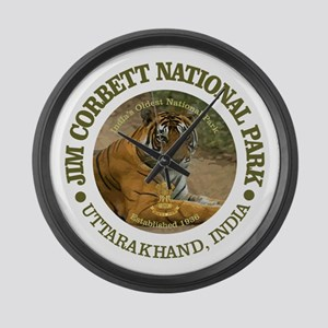 Jim Corbett National Park Large Wall Clock