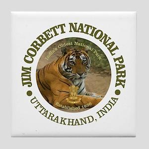 Jim Corbett National Park Tile Coaster