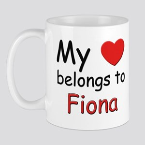 My heart belongs to fiona Mug