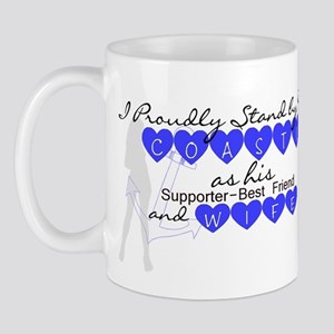 I PROUDLY STAND BY MY COASTIE Mug