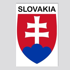 SlovakiaCoat1 Postcards (Package of 8)