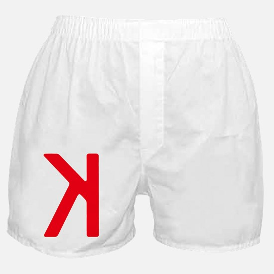 Strikeout Looking (backwards K) Boxer Shorts