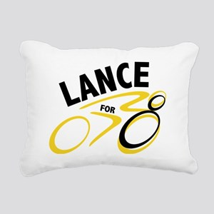 Lancefor8 Rectangular Canvas Pillow