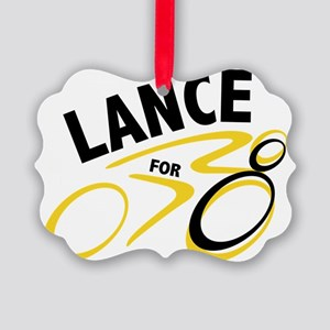 Lancefor8 Picture Ornament