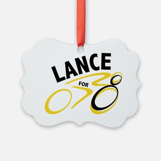 Lancefor8 Ornament