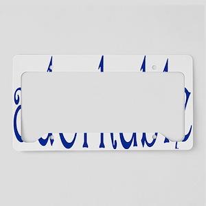adorkable License Plate Holder