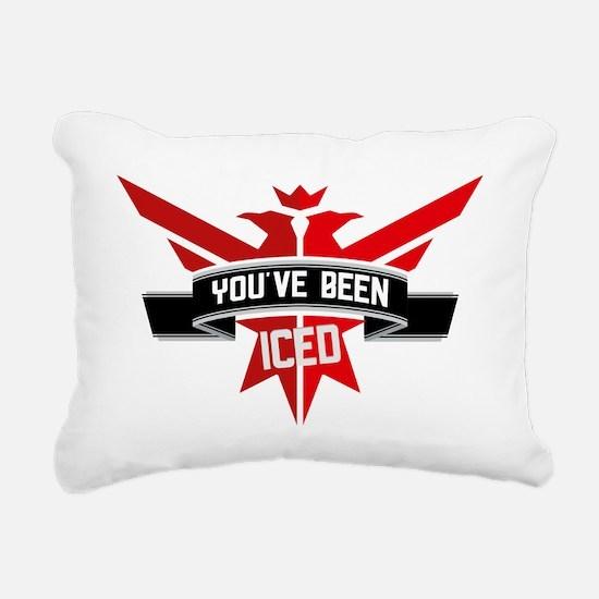 10x10_apparel_iced Rectangular Canvas Pillow