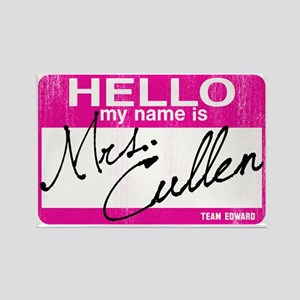 Hello Mrs cullen-sm Rectangle Magnet