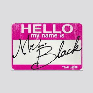 Hello Mrs Black-sm Rectangle Magnet