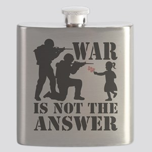 war is not the answer rev Flask