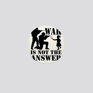 war is not the answer rev Mini Button