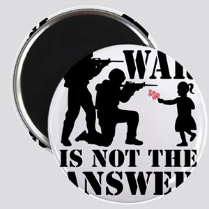 war is not the answer rev Magnet