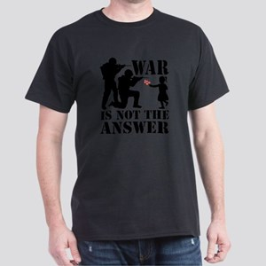 war is not the answer rev Dark T-Shirt