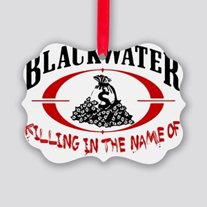 blackwater rev Picture Ornament