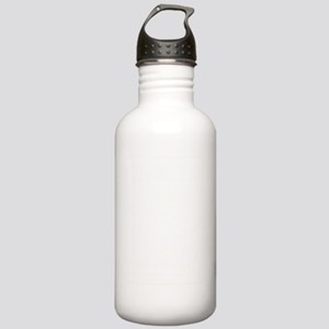 my town white Stainless Water Bottle 1.0L