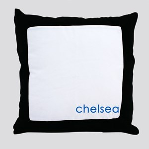 made in chelsea Throw Pillow