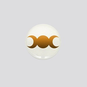 Bronze Triple Goddess Mini Button