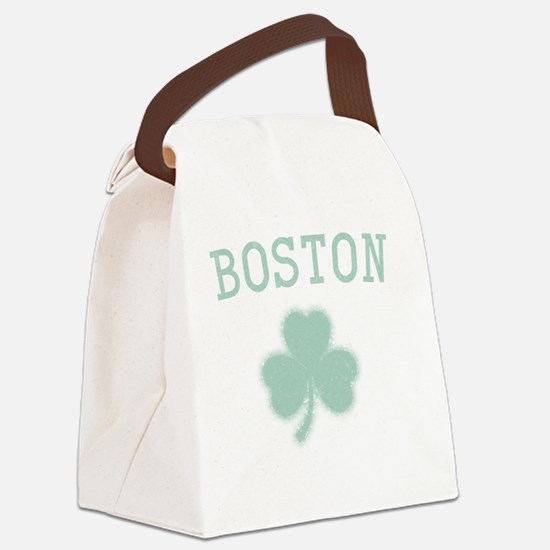 boston-shamrock Canvas Lunch Bag