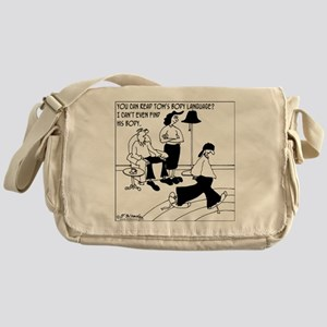 2-7448_teen_cartoon Messenger Bag
