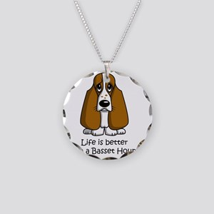SS_Life-is-better-with... Necklace Circle Charm