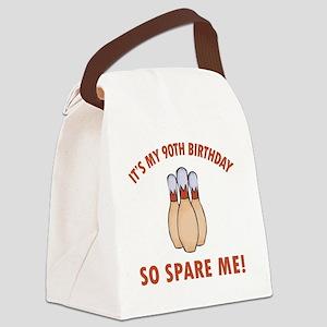 SpareMe90 Canvas Lunch Bag