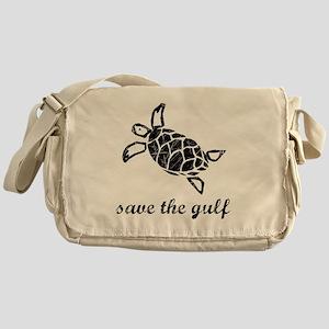 turtle-distressed Messenger Bag