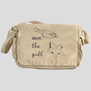 starfish-savegulf Messenger Bag