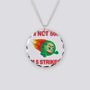 strikes50 Necklace Circle Charm