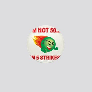 strikes50 Mini Button