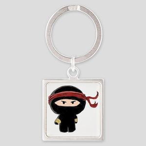 ninja3 Square Keychain