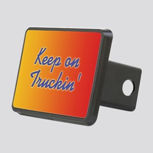 keep-on-truckin_b Rectangular Hitch Cover