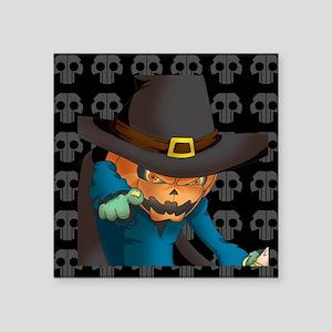 """fear Square Sticker 3"""" x 3"""""""