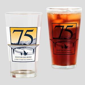 Deception_Pass_Logo_2010 Drinking Glass