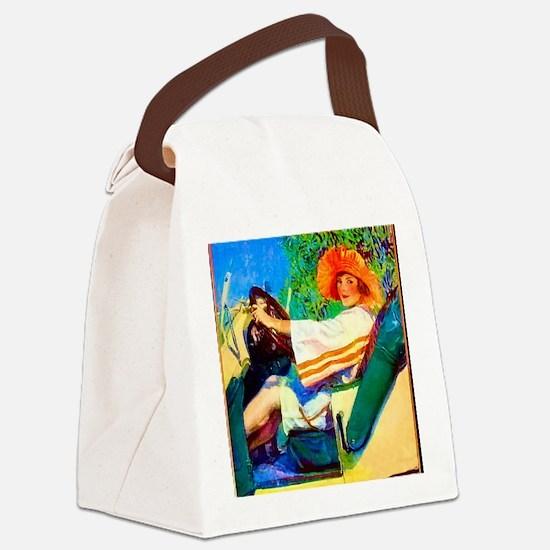 D2-252 Canvas Lunch Bag