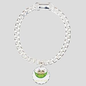 Mother of Twins, Girl/Gi Charm Bracelet, One Charm