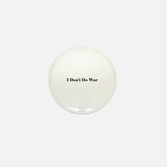 No War Mini Button