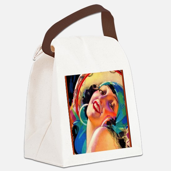 D2-212 Canvas Lunch Bag