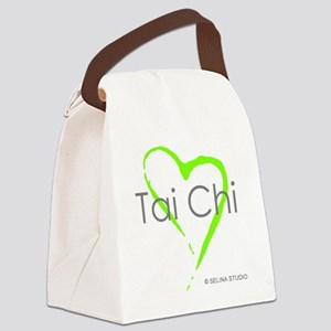 taichi heart - middle Canvas Lunch Bag